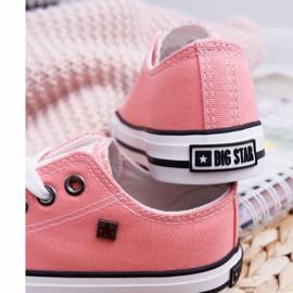 Trampki Dziecięce Big Star Łososiowe FF374204 różowe 3