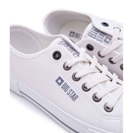 Trampki Męskie Big Star Białe FF174054 5