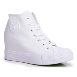 Sneakersy Damskie Big Star Białe FF274A192 6