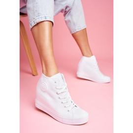 Sneakersy Damskie Big Star Białe FF274A192 1