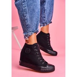 Sneakersy Damskie Big Star Czarne FF274A191 3