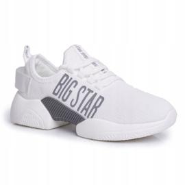 Damskie Sportowe Obuwie Big Star Białe FF274282 1