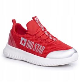Damskie Sportowe Obuwie Big Star Czerwone FF274A412 5