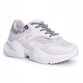 PS1 Sportowe Damskie Buty Wężowe Szare Giselle 4