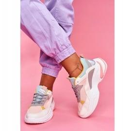 PS1 Sportowe Damskie Buty Kolorowe Różowe Pinner białe wielokolorowe 1