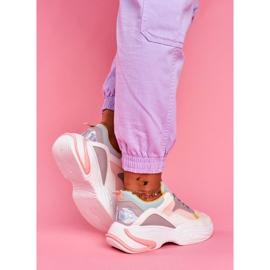 PS1 Sportowe Damskie Buty Kolorowe Różowe Pinner białe wielokolorowe 3