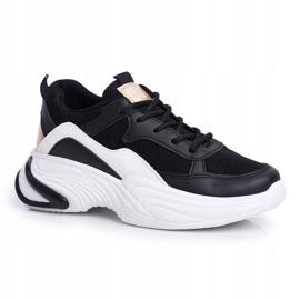 SEA Sportowe Damskie Buty Kolorowe Czarne Pinner białe wielokolorowe 6