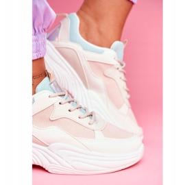 PS1 Sportowe Damskie Buty Kolorowe Beżowe Pinner białe brązowe wielokolorowe 1