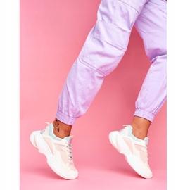 PS1 Sportowe Damskie Buty Kolorowe Beżowe Pinner białe brązowe wielokolorowe 3