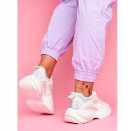 PS1 Sportowe Damskie Buty Kolorowe Beżowe Pinner białe brązowe wielokolorowe 5