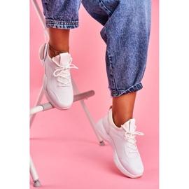 BUGO Sportowe Damskie Buty Różowo Białe Fellen różowe 1