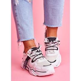 BUGO Sportowe Damskie Buty Białe Elenis 1