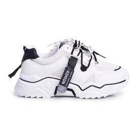 BUGO Sportowe Damskie Buty Białe Elenis czarne 7