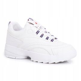 EVE Sportowe Damskie Buty Białe Boston 6
