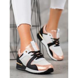 SHELOVET Kolorowe Sneakersy wielokolorowe 4