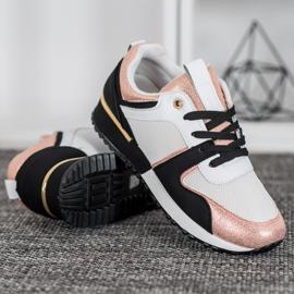 SHELOVET Kolorowe Sneakersy wielokolorowe 2