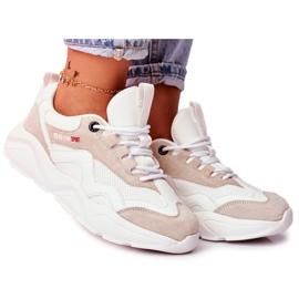 Damskie Sportowe Obuwie Sneakersy Big Star Białe FF274958 7