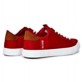 Trampki Męskie Big Star Czerwone FF174315 3