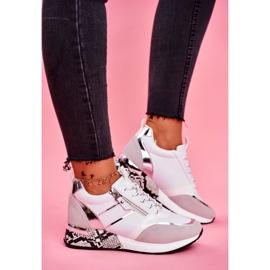 Sportowe Damskie Buty Białe Figure 2