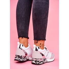 Sportowe Damskie Buty Białe Figure 4