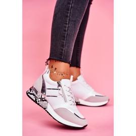 Sportowe Damskie Buty Białe Figure 1