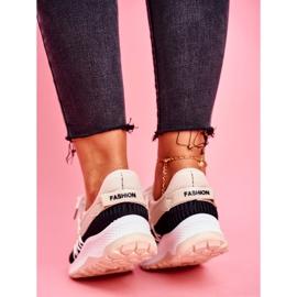 BUGO Sportowe Damskie Buty Sneakersy Beżowe Pamela beżowy 2