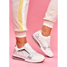 SEA Sportowe Damskie Buty Sneakersy Białe Helly 2