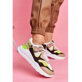 PS1 Sportowe Damskie Buty Sneakersy Białe Freak brązowe wielokolorowe 1