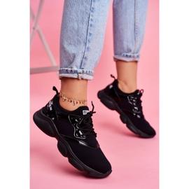 Damskie Sportowe Obuwie Sneakersy Big Star Czarne FF274932 1