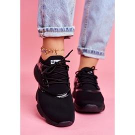 Damskie Sportowe Obuwie Sneakersy Big Star Czarne FF274932 3