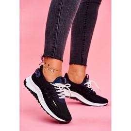 BUGO Sportowe Damskie Buty Sneakersy Czarne Pamela 1