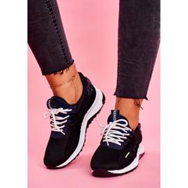 BUGO Sportowe Damskie Buty Sneakersy Czarne Pamela 2
