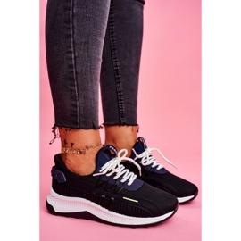 BUGO Sportowe Damskie Buty Sneakersy Czarne Pamela 3