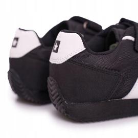 Sportowe Buty Dziecięce Big Star Na Rzepy Czarne FF374134 4