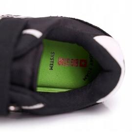 Sportowe Buty Dziecięce Big Star Na Rzepy Czarne FF374134 5