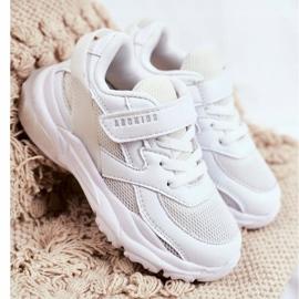 Sportowe Buty Dziecięce Białe Abckids B933204077 1