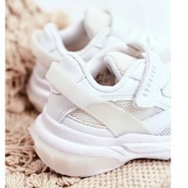 Sportowe Buty Dziecięce Białe Abckids B933204077 2