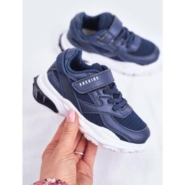 Sportowe Buty Dziecięce Granatowe Abckids B933204077 2