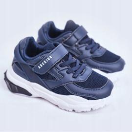 Sportowe Buty Dziecięce Granatowe Abckids B933204077 1