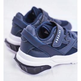 Sportowe Buty Dziecięce Granatowe Abckids B933204077 3