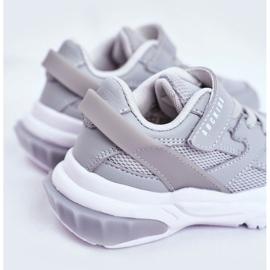 Sportowe Buty Dziecięce Szare Abckids B933204077 4