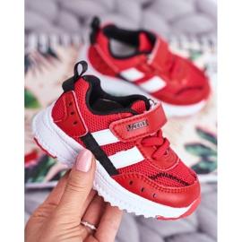 Sportowe Buty Dziecięce Czerwone ABCKIDS B933104083 2