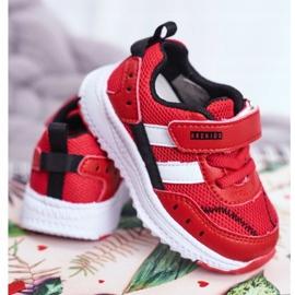 Sportowe Buty Dziecięce Czerwone ABCKIDS B933104083 3