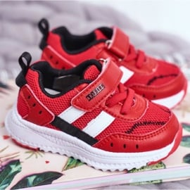 ABCKIDS POLAND Sp. z o.o. Sportowe Buty Dziecięce Czerwone Abckids B933104083 1