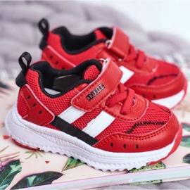 Sportowe Buty Dziecięce Czerwone ABCKIDS B933104083 1