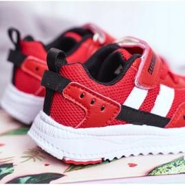 Sportowe Buty Dziecięce Czerwone ABCKIDS B933104083 4