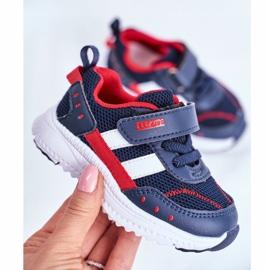 Sportowe Buty Dziecięce Granatowe ABCKIDS B933104083 2