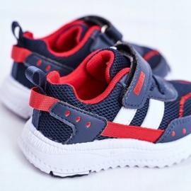 Sportowe Buty Dziecięce Granatowe ABCKIDS B933104083 3