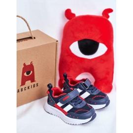Sportowe Buty Dziecięce Granatowe ABCKIDS B933104083 4