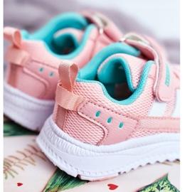 ABCKIDS POLAND Sp. z o.o. Sportowe Buty Dziecięce Różowe Abckids B933104083 4